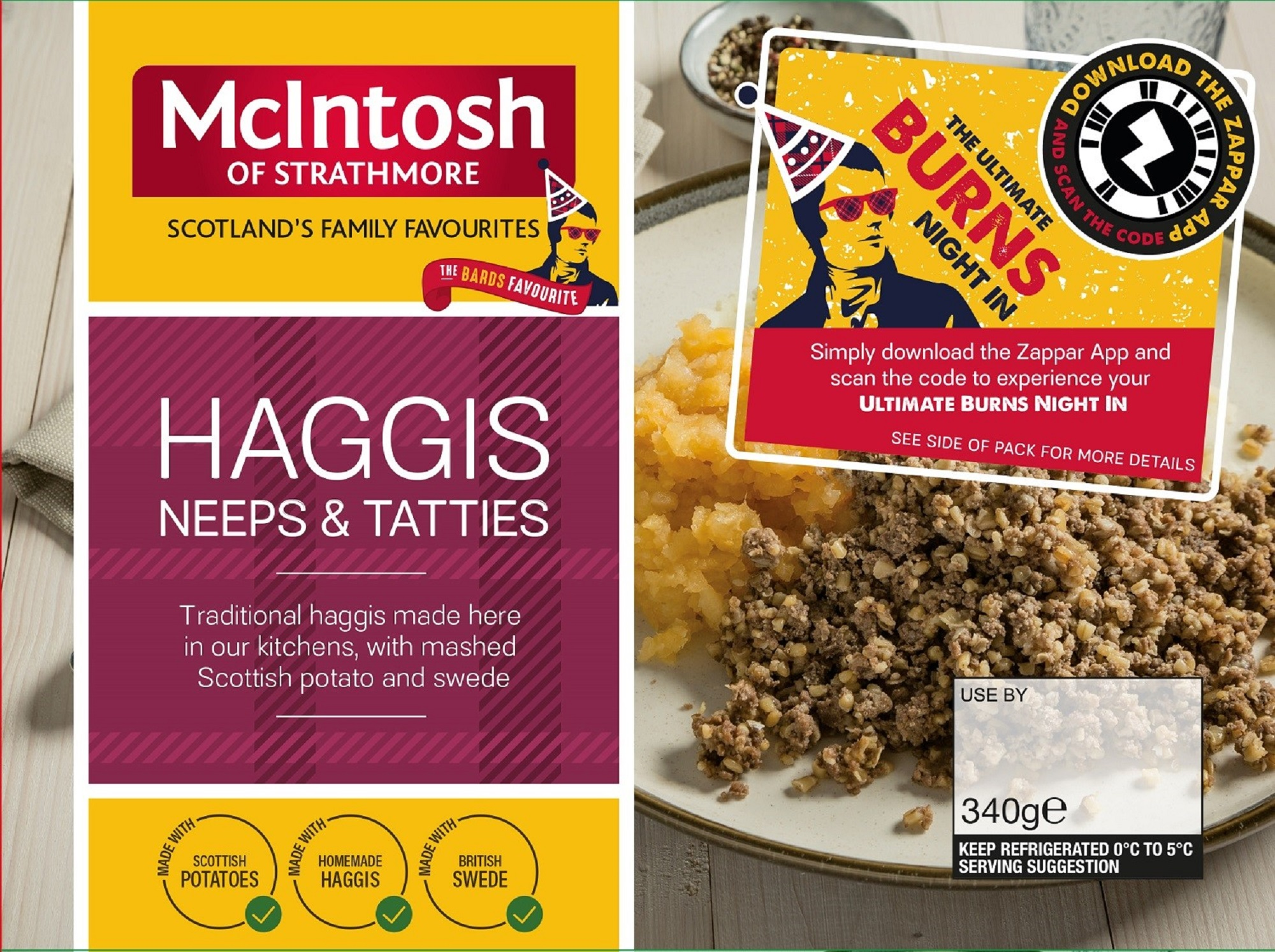 McIntosh Burns pack