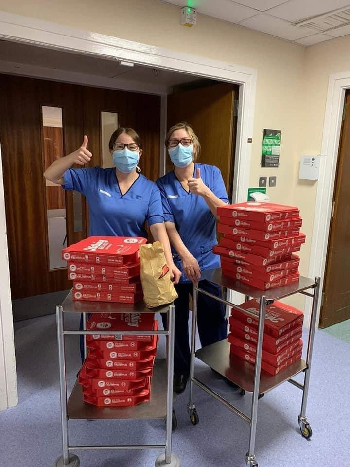 Pandemic Pizza is back