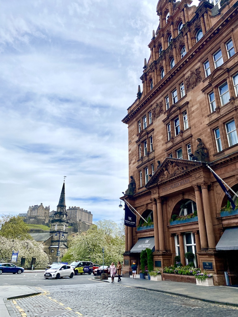 Waldorf Astoria Edinburgh The Caledonian Staycation