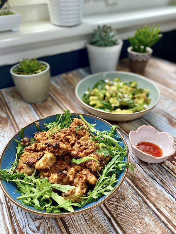 easy chicken satay recipe side view