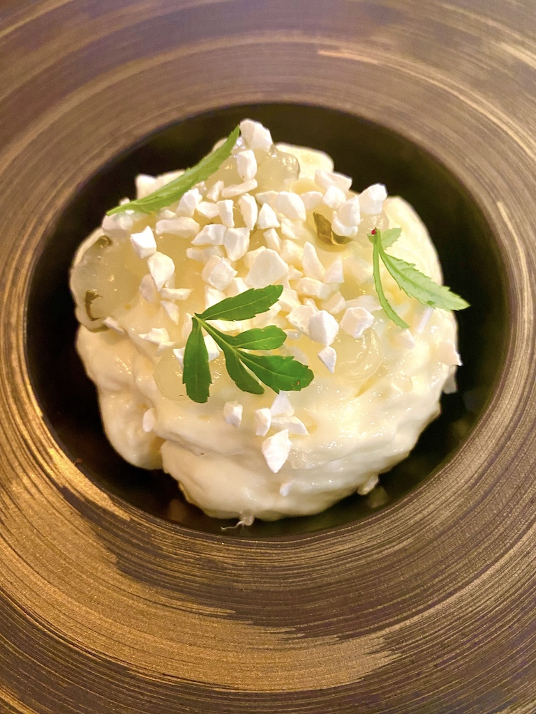 Citrus fruit cream Unalome by Graeme Cheevers