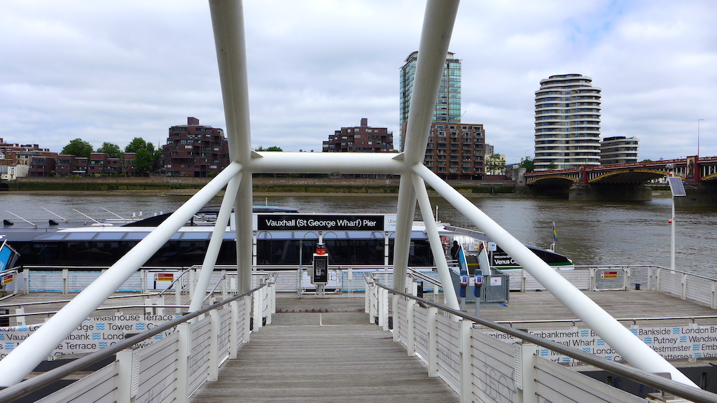 uber boat by thames clippers pier