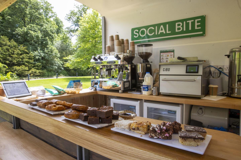 social bite coffee cart