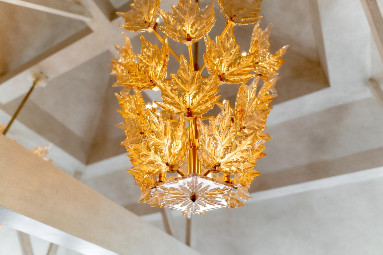 the glenturret lalique chandelier