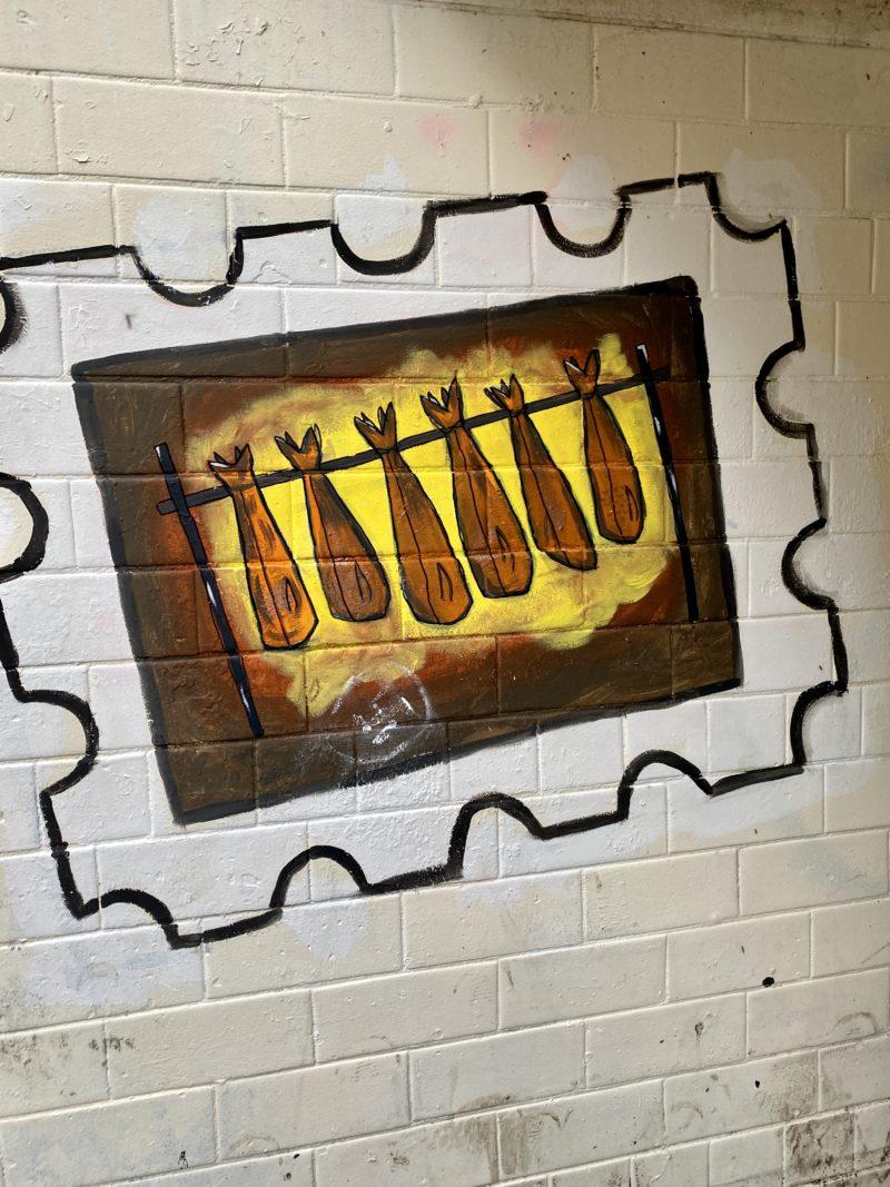 Arbroath mural subway
