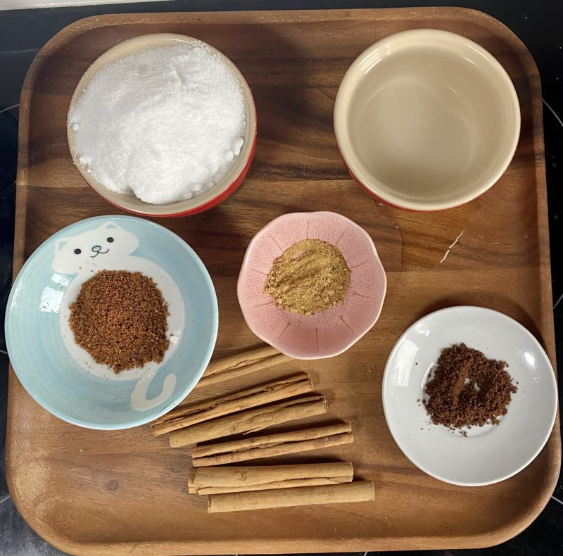 pumpkin spiced latte recipe ingredients