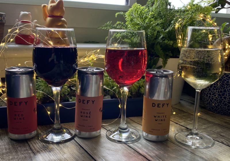 Defy organic wine