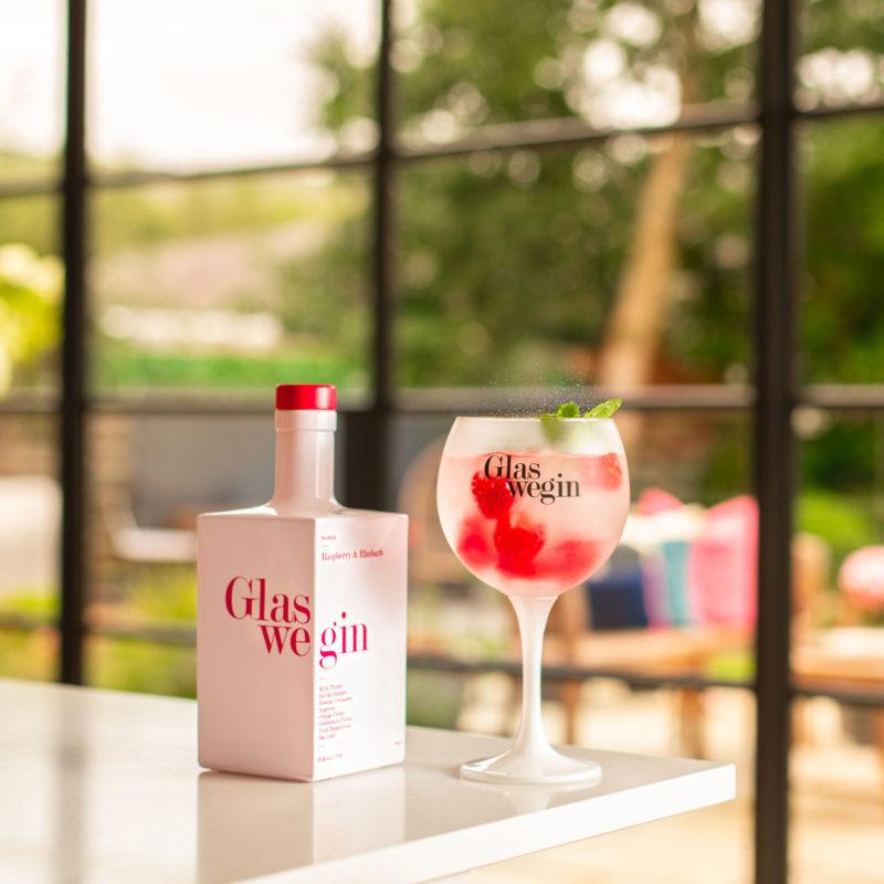 Glaswegin raspberry and rhubarb