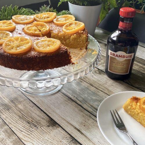 gluten free drambuie polenta cake